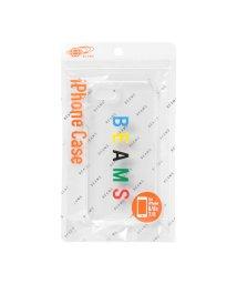 bPr BEAMS/BEAMS / カラーロゴ iPhone8・7ケース/500741482