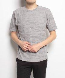 Alpine DESIGN/アルパインデザイン/メンズ/胸ポケットTシャツ 迷彩/500756012
