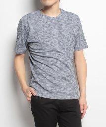 Alpine DESIGN/アルパインデザイン/メンズ/胸ポケットTシャツ ワッフル杢/500756013