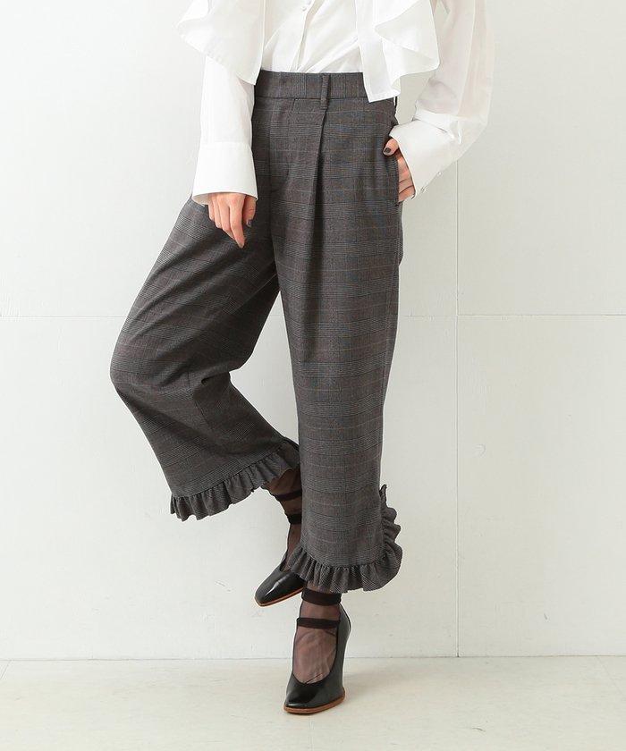 【カタログ掲載】RBS / 裾フリル クロップドパンツ
