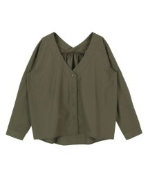 titivate/抜け襟オーバーサイズシャツ/500742916