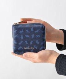 DEVICE/Depa-Garden猫柄ラウンド二つ折り財布/500743739