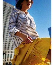 FRAY I.D/カメリアバックタックシャツ/500756032