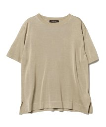 BEAMS OUTLET/Demi-Luxe BEAMS / シルク クルーネックプルオーバー/500756198