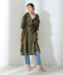 Demi-Luxe BEAMS/【Oggi10月号掲載】Demi-Luxe BEAMS / コーティングトレンチコート/500756263