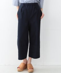 BEAMS OUTLET/Demi-Luxe BEAMS / 刺繍ヘム Aラインガウチョパンツ/500756283