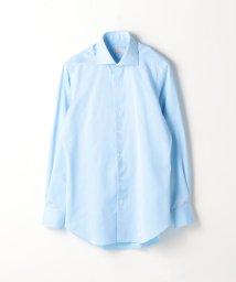 TOMORROWLAND MENS/120/2コットンピケ ワイドカラー ドレスシャツ NEW WIDE-5/500756286