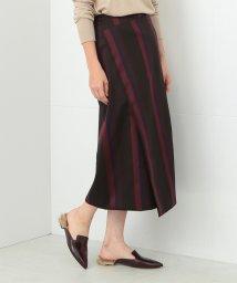 Demi-Luxe BEAMS/Demi-Luxe BEAMS / マルチストライプスカート/500756337