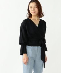 BEAMS OUTLET/【カタログ掲載商品】Demi−Luxe BEAMS / コットンカシュクール ブラウス/500756347