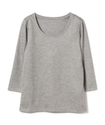 BEAMS OUTLET/Demi-Luxe BEAMS / テンセル ベーシック 7分袖シャツ/500756357