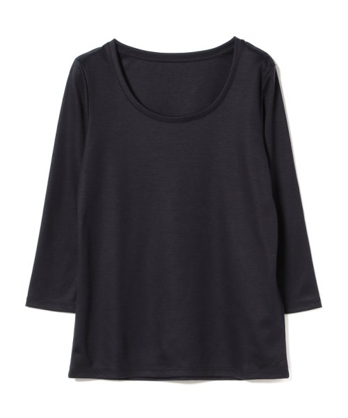 BEAMS OUTLET(ビームス アウトレット)/Demi-Luxe BEAMS / テンセル ベーシック 7分袖シャツ/68140012444