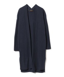 BEAMS OUTLET/Demi-Luxe BEAMS / リブ ロングカーディガン/500756361