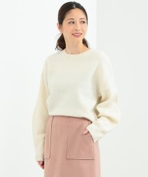 BEAMS OUTLET/★Demi-Luxe BEAMS / ボリュームスリーブ クルーネックニット/500756362