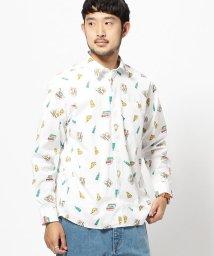BEAMS OUTLET/BEAMS / ブロード 総柄プリントシャツ/500756611