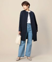 BEAUTY&YOUTH UNITED ARROWS/BY ドロップショルダーノーカラーコート/500757284