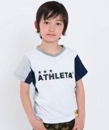 SHIPS KIDS/ATHLETA×SHIPS KIDS:カノコ V/N TEE(100~130cm)/500757535