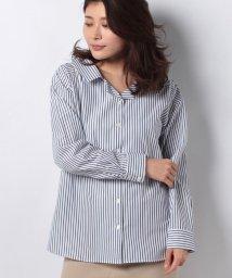 HARYU/ストライプカラーカイキンシャツ/10264671N