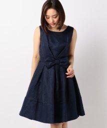 MISCH MASCH/リボン付きジャガードドレス/500635882