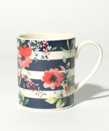 Afternoon Tea LIVING/フラワーボーダー柄マグカップ/500730910