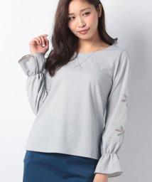 axes femme/ネックレス付袖刺繍PO/500733552