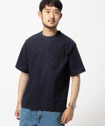 BEAMS MEN/BEAMS / ウーブン ポケットTシャツ/500757682