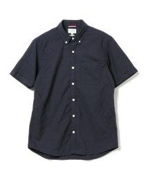 BEAMS MEN/BEAMS / ストレッチオックスフォード 半袖シャツ/500757683