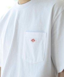 BEAMS MEN/DANTON / ロゴ ポケット Tシャツ/500757793