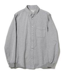 BEAMS OUTLET/BEAMS / ピンオックス 裾リブ シャツ/500757802
