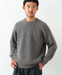BEAMS OUTLET/BEAMS / 畔編み クルーネックニット/500757918
