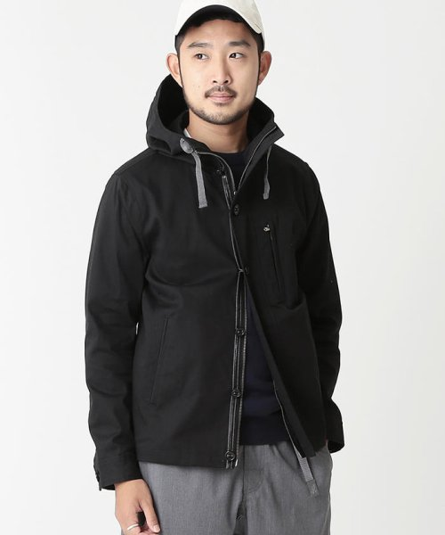 BEAMS OUTLET(ビームス アウトレット)/BEAMS / レイズドネック パラシュートパーカ/11183685277
