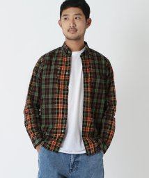 BEAMS OUTLET/BEAMS / カットドビー チェック シャツ/500758086