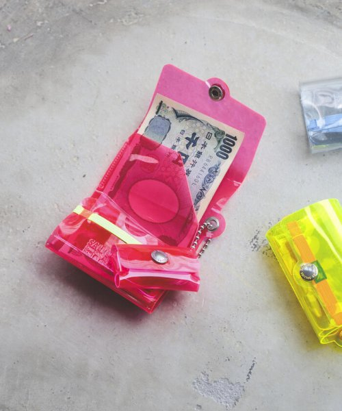 bPr BEAMS(bPrビームス(雑貨))/SALLIES / Pocket PAL ミニマル ウォレット/33030554540