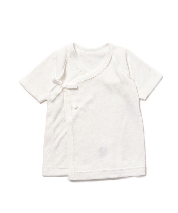 smile cotton×こども ビームス / 短肌着 (50〜60cm)