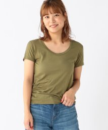BEAMS OUTLET/Ray BEAMS High Basic / スクープ ネック Tシャツ/500759632
