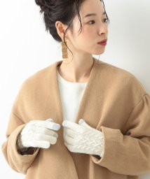 BEAMS OUTLET/Ray BEAMS / ケーブル編 ニット グローブ/500759917