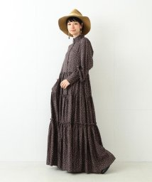 BEAMS OUTLET/【カタログ掲載】RBS / プリント ティアード マキシワンピース/500760202