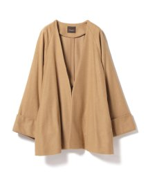 BEAMS OUTLET/Demi-Luxe BEAMS / キャメル混 ショートコート/500760730