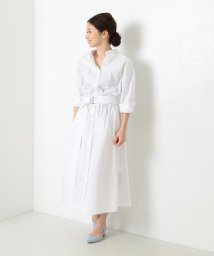 BEAMS OUTLET/Demi-Luxe BEAMS / サイドステッチシャツワンピース/500760756