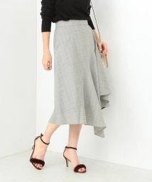 Demi-Luxe BEAMS/【大草直子さんオススメ】Demi-Luxe BEAMS / ラッフル フレアースカート/500760801
