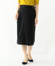 Demi-Luxe BEAMS/Demi-Luxe BEAMS / ダブルベルト タックタイトスカート/500760817