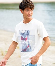 CavariA/CavariA【キャバリア】ガールズフォトプリントクルーネック半袖Tシャツ/500761034