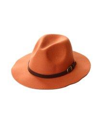 Dita/Dita【ディータ】フェルトPUベルト付き中折れつば広HAT/500762582