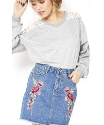 Dita/Dita【ディータ】フラワー刺繍ミニSK(スカート)/500762584