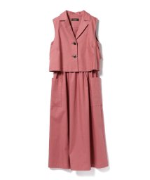 BEAMS OUTLET/Demi−Luxe BEAMS / トレンチ風 レイヤードワンピース/500763294