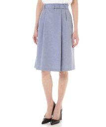 NATURAL BEAUTY/ワルツツイル広巾スカート/500763566
