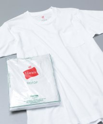 ADAM ET ROPE'/【Hanes for BIOTOP】2-Pack POCKET T-SHIRTS/500763814