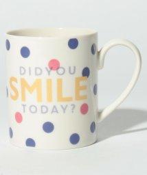 Afternoon Tea LIVING/ドットタイポ柄マグカップ/500730909