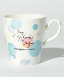 Afternoon Tea LIVING/水彩ドット柄軽量マグカップ/500730914