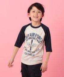 KRIFF MAYER(Kids)/SKYクルー(7分袖)(120〜160cm)/500735562
