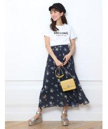Rirandture/小花プリントマキシスカート/500765944